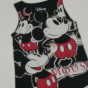 Disney Mickey Mouse Tank Top Size Adult M